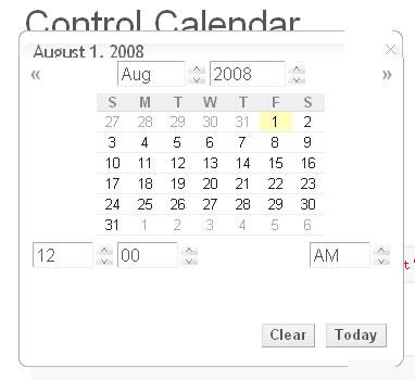 Control.Calendar