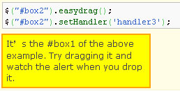 EasyDrag jQuery Plugin
