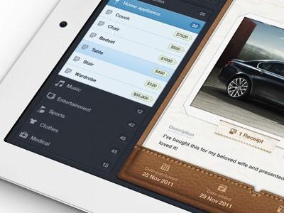ipad和iphone app界面设计的30个案例