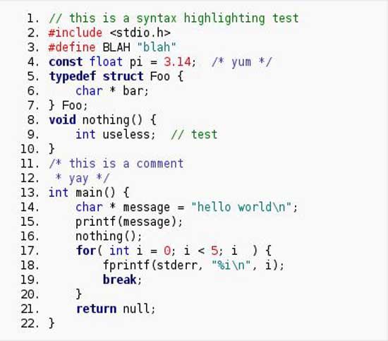 10 个 wordpress 的代码语法高亮插件